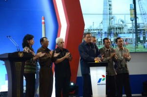Peresmian Grounbreaking Resid Fluid Catalityc Cracking (RFCC) RU - IV, PERTAMINA