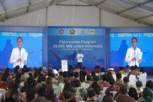 Peluncuran Program Pembangunan Pembangkit 35.000MW